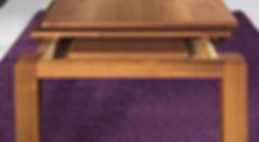 Tavolo con allunghe moderno