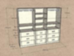 Armadio su misura, armadio stanzetta