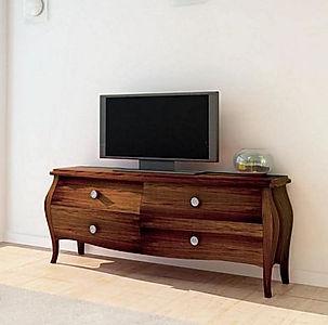 Porta tv provenzale, porta tv classico, porta tv su misura
