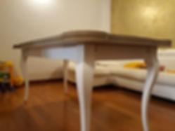 tavolo rettangolare su misura