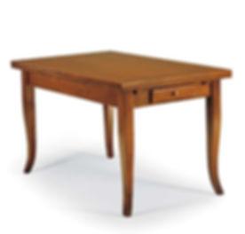 Tavolo rettangolare con cassetto