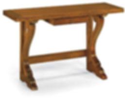 tavolo consolle apribile