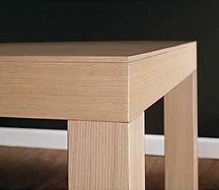 Tavolo moderno su misura grezzo bari