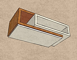 tavolino da salotto moderno, tavolino su misura, tavolino moderno su misura