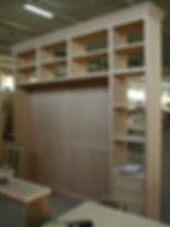 libreria con boiserie, boiserie con libreria