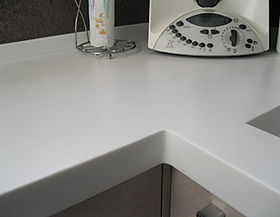 Piano In Corian Cucina.Top Cucina In Corian
