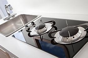 Top cucina per imbarcazione in corian, piano cucina per barche