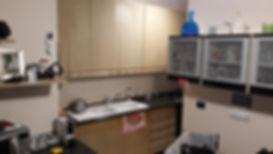 Cucina vecchia da cambiare ante