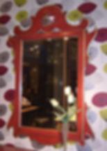 Specchiera provenzale, specchiera laccata, specchiera da collezione