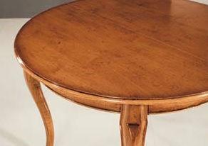 Tavolo classico grezzo tondo