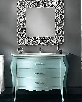 Mobili bagno su misura, mobili bagno grezzi, mobili bagno classici, mobili bagno barocco