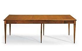 Tavolo rettangolare aperto