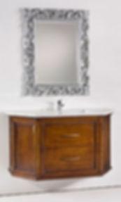 mobile bagno classico sospeso, mobile bagno classico