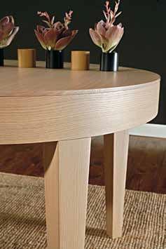 Gamba tavolo moderno tondo