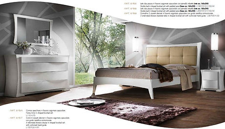 Camera da letto in frassino, camera da letto moderna
