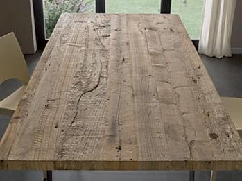Paino tavolo grezzo massiccio
