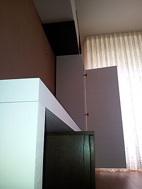 parete attrezzata su misura, parete attrezzata moderna su misura