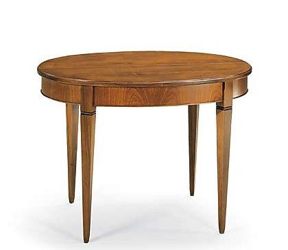 tavolo tondo ciliegio apribile