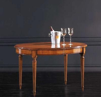Tavolo ovale claasico su misura