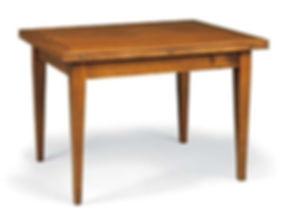 tavolo rettangolare apribile