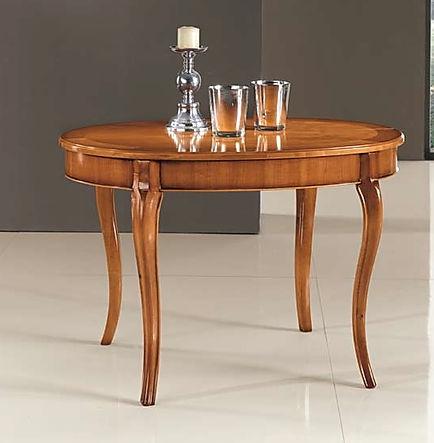 tavolo ovale grezzo