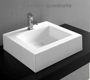 vasca in corian su misura, vasca in solid surface