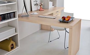 scrivania per casa angolare, scrivania su misura a bari