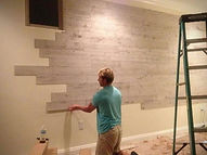 rivestimenti murali in legno, boiserie in legno