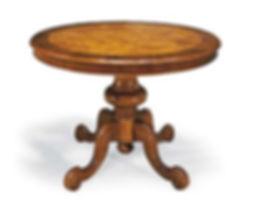 tavolo con gambo grezzo