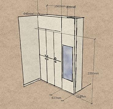 Progettazione armadio su misura bari