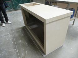 Base cucina esterna lato