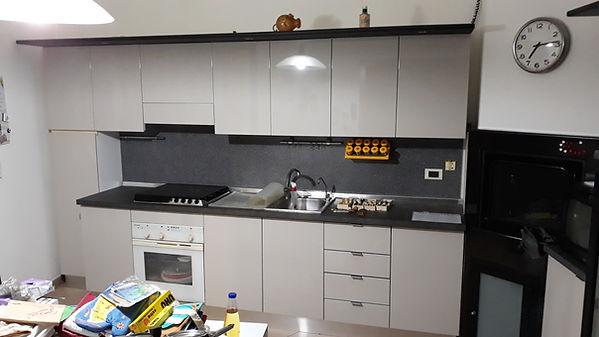 Cambio ante cucina