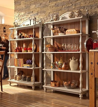 libreria grezza, libreria grezza su misura, mobili grezzi a bari