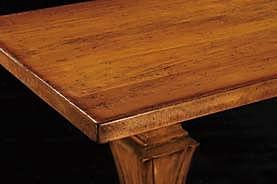 Tavolo in massello grezzo