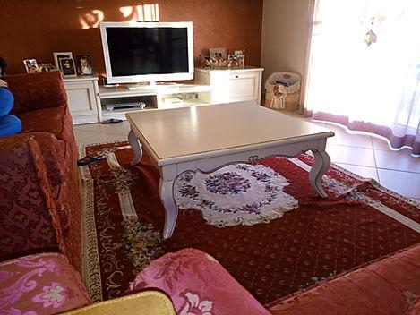Tavolo da salotto laccato