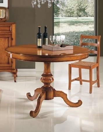 Tavolo classico tondo