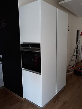Colonna forno bianca