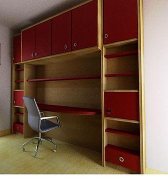 Parete ufficio casa, parete attrezzata ufficio, parete su misura ufficio
