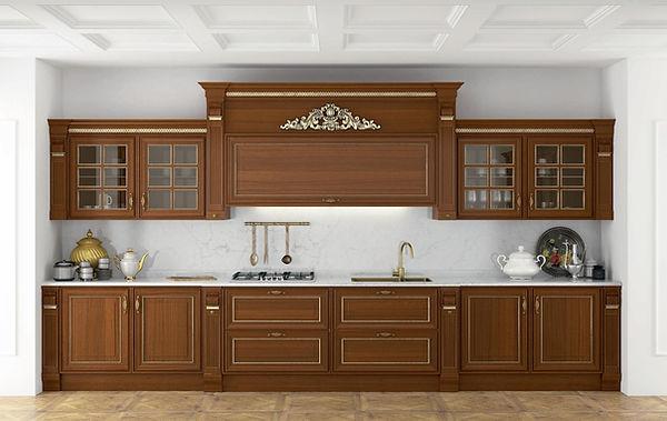 cucina classica noce, cucina classica su misura