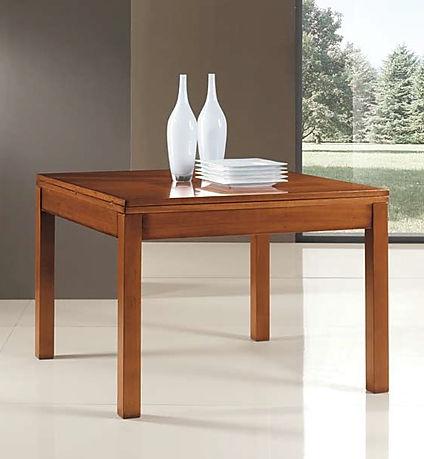Tavolo moderno quadrato grezzo
