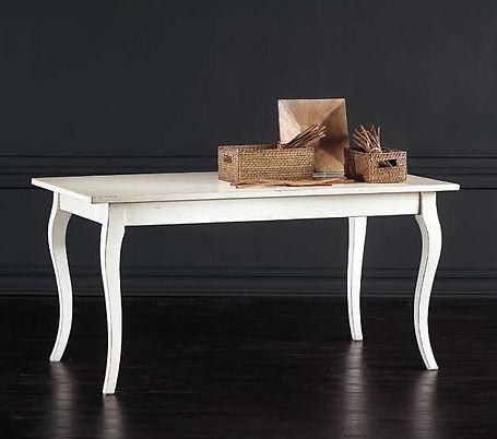 tavolo fisso rettangolare classico