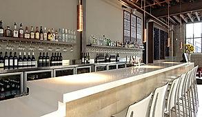 banco bar in corian