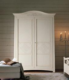 Armadio classico, armadi classici, armadio laccato, armadio decorato, armadio neoclassico