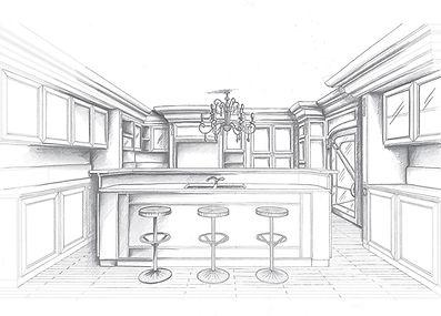 cucina classica a bari, cucine classiche su misura, cucine in legno,  cucine con intagli
