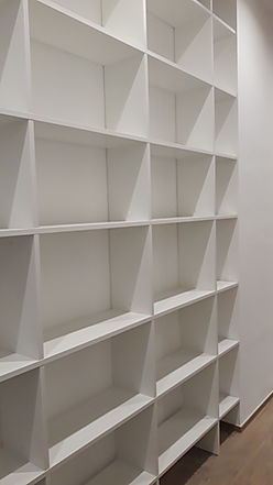 Libreria moderna su misura