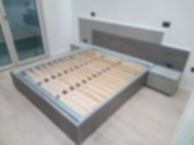 Camera da letto moderna su misura