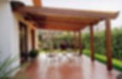 Pergolati in legno, pensiline in legno, tettoie in legno