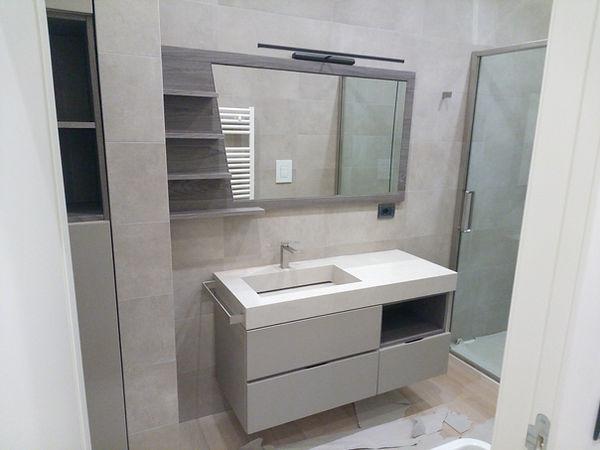 Mobile bagno su misura moderno