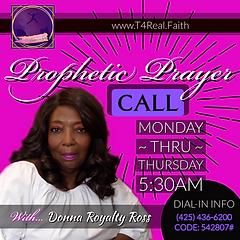 T4Real PRAYER CALL