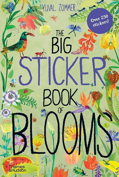 The Big Sticker Book of Blooms (Paperback)